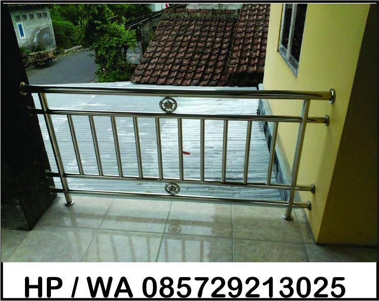 Balkon stainless Jogja