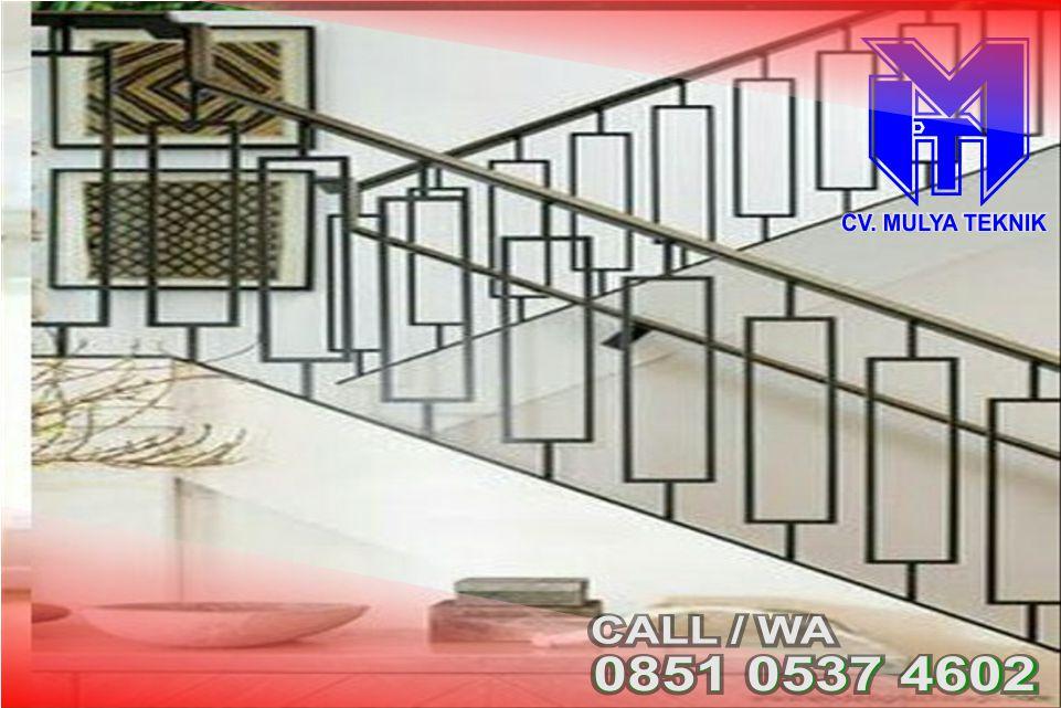 Informasi Harga Pembuatan Railing Tangga Stailessteal Sleman 2020