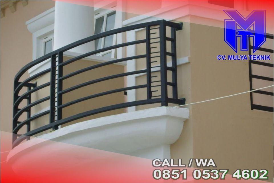 Desain Rumah Dengan Balkon Minimalis Sleman