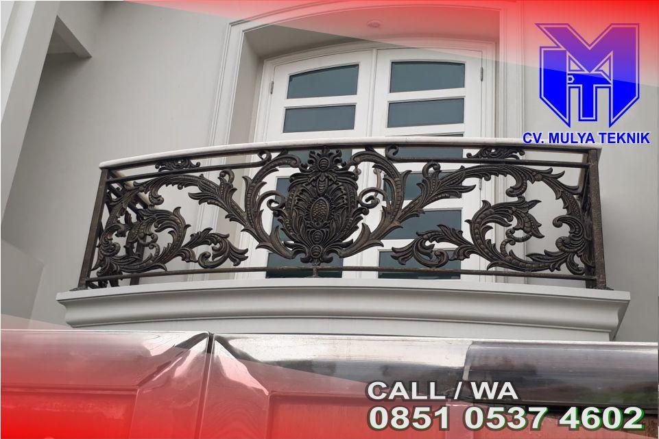 Jenis Warna Terbaik Balkon Tempa Sleman