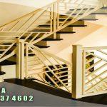 jasa pemasangan railing tangga tempa sleman