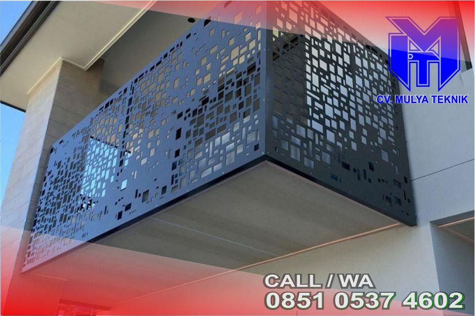 Balkon Plat Laser Sleman