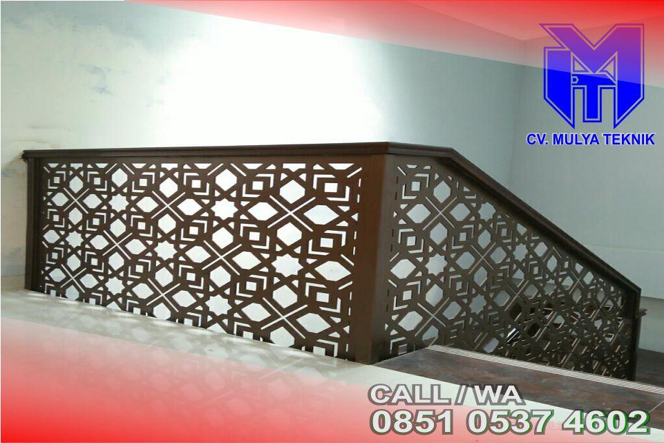 Pembuatan Balkon Plat Laser Sleman